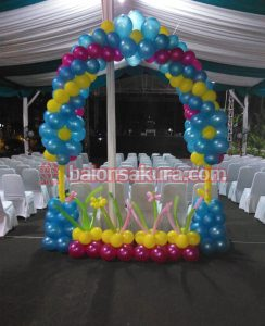 balon gate dekorasi murah