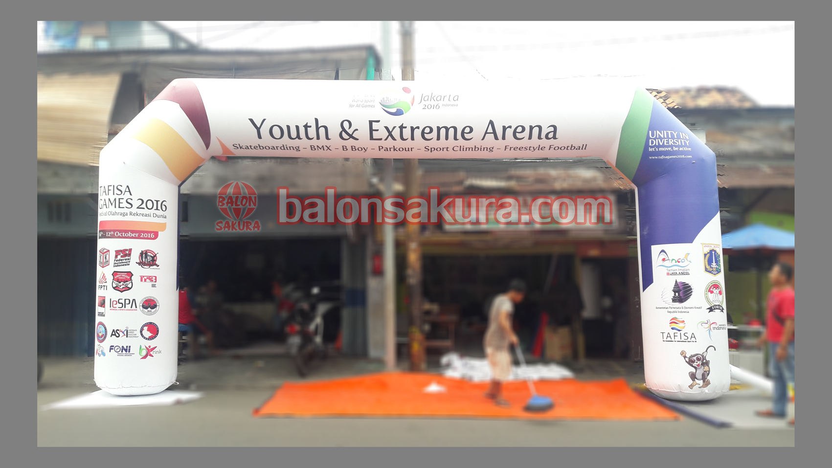 balon gate event