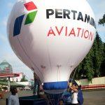 balon udara pertamina