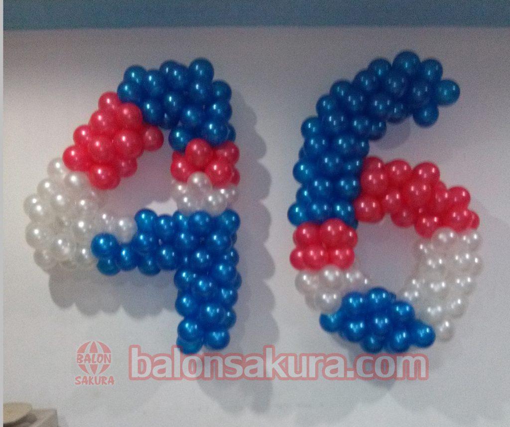 balon dekorasi angka