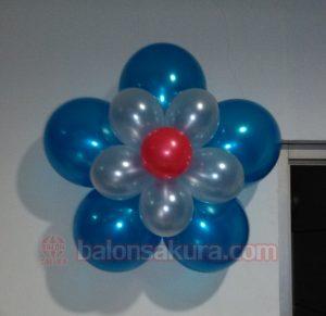 dekorasi bunga balon