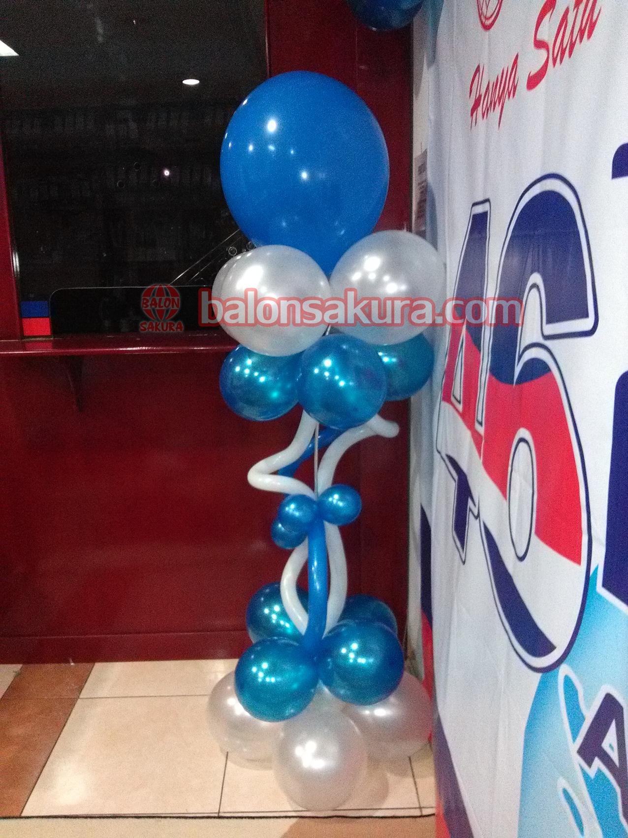 dekorasi standing balon