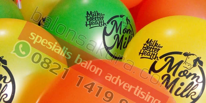Spesialis Advertising Sablon Balon / Balon Print Jakarta | Balon Sakura