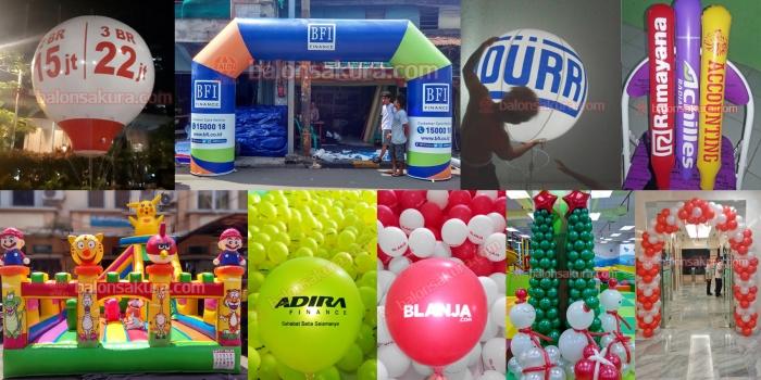 Jual Balon Promosi Berbagai Jenis Harga Murah