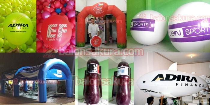 Pusat Balon Tempat Jual & Produksi Aneka Balon Iklan Promosi