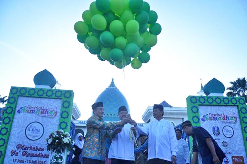 balon pelepasan ramadan