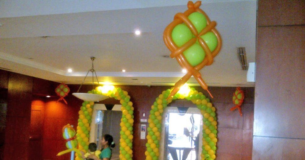 dekorasi balon lebaran