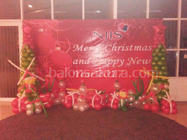Menyediakan Balon Dekorasi Natal Tahun Baru Murah 0821