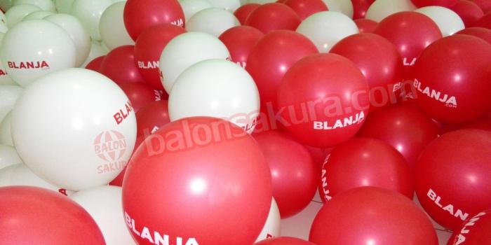 Tempat jual dan produksi balon sablon balon print harga murah
