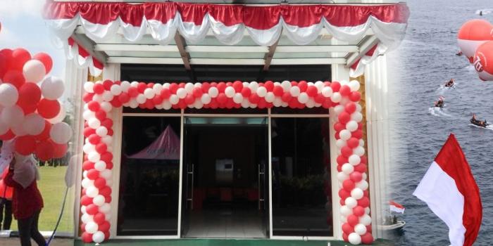 Balon Dekorasi 17 Agustus Hut Kemerdekaan Indonesia