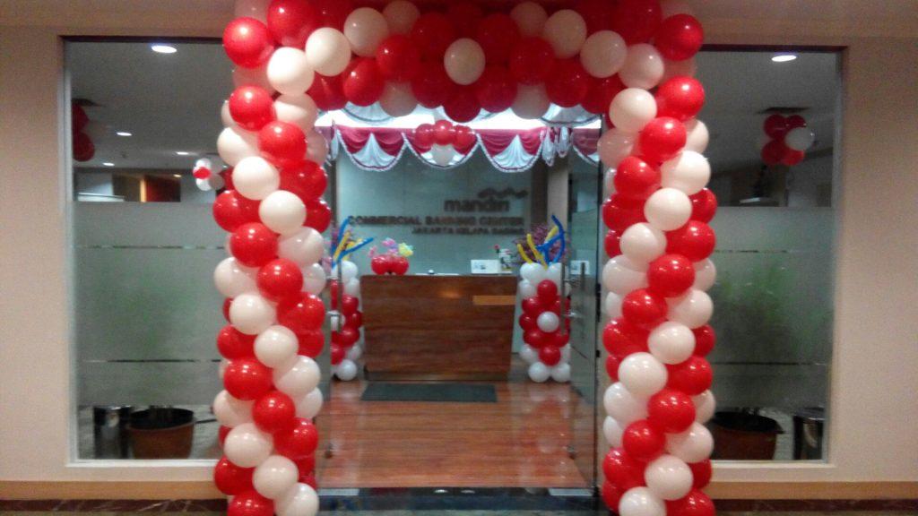 balon dekorasi agustusan