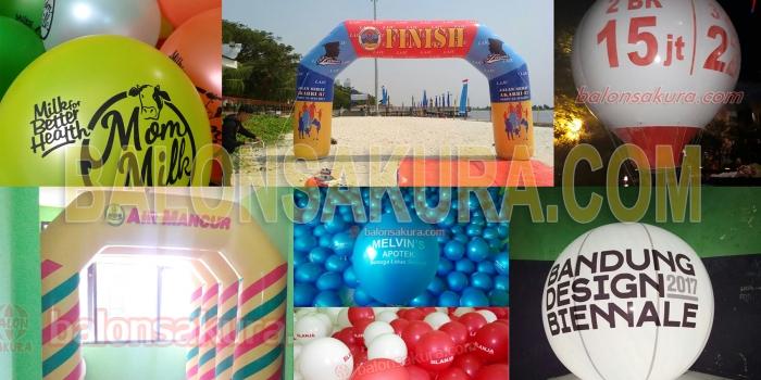 Jual & Produksi Berbagai Balon Advertising No.1 Harga Murah
