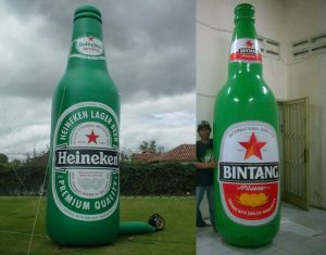 balon botol beer