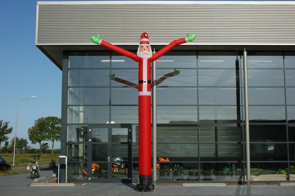 balon dancer santa