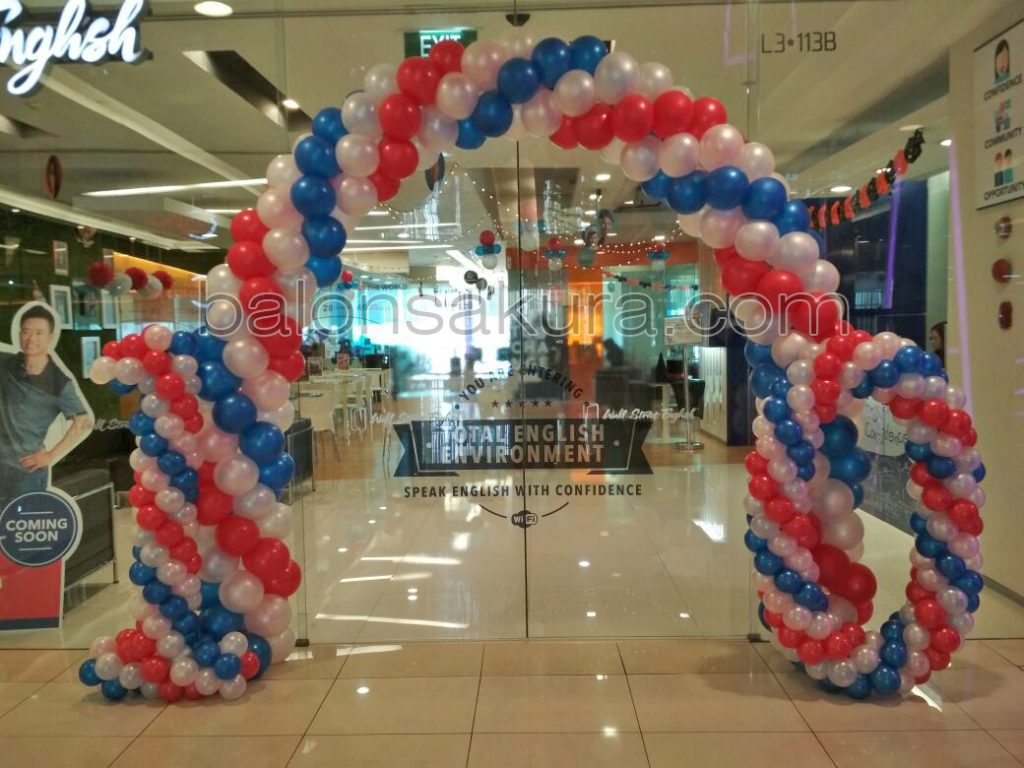balon dekorasi mall alam sutera