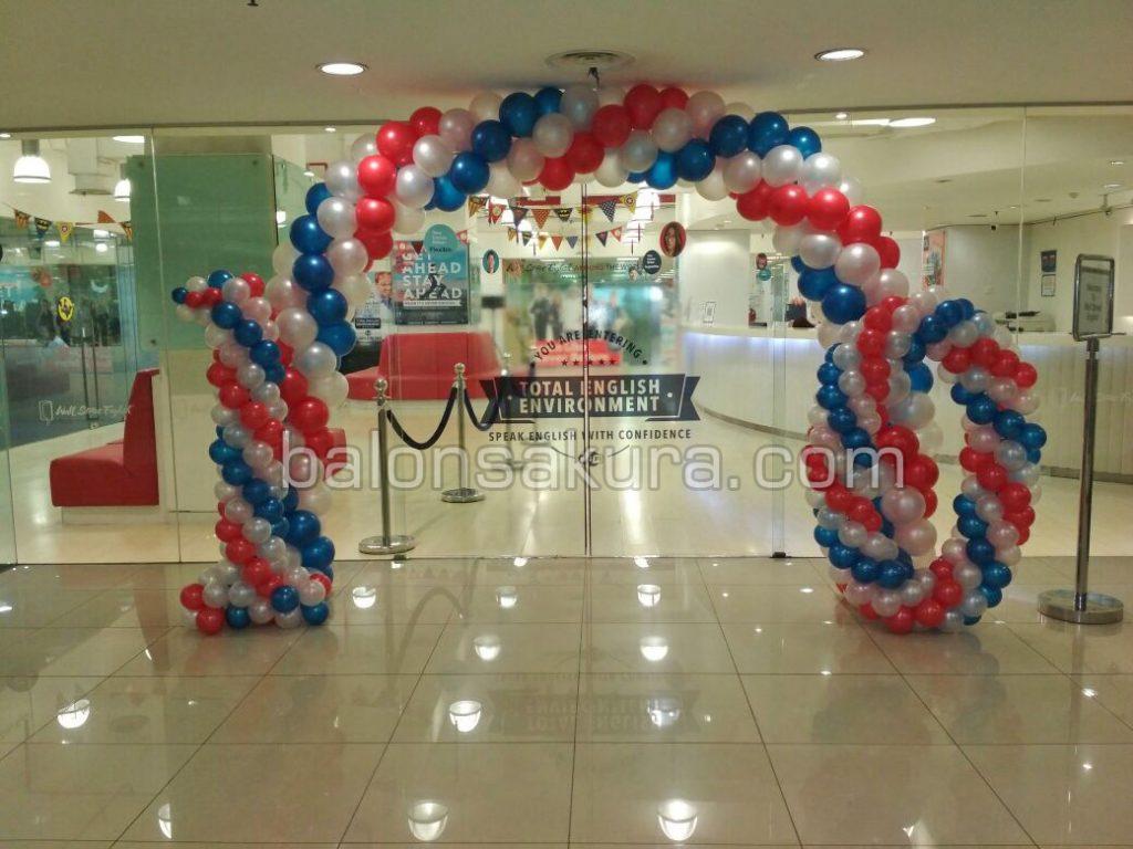 balon dekorasi mall central park