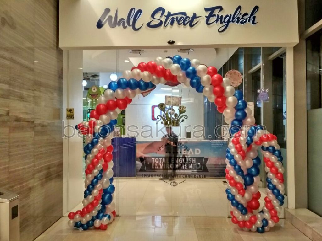 balon dekorasi mall ratu plaza