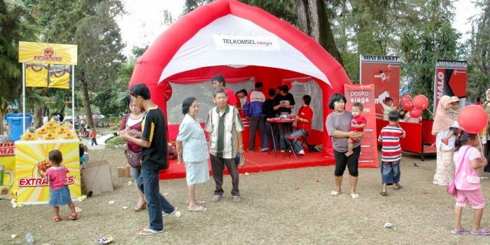 Supplier Balon Tenda Semarang Jawa Tengah | Balon Sakura
