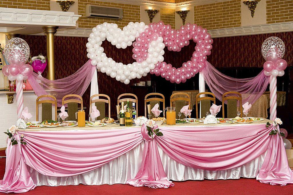 balon dekorasi nikahan