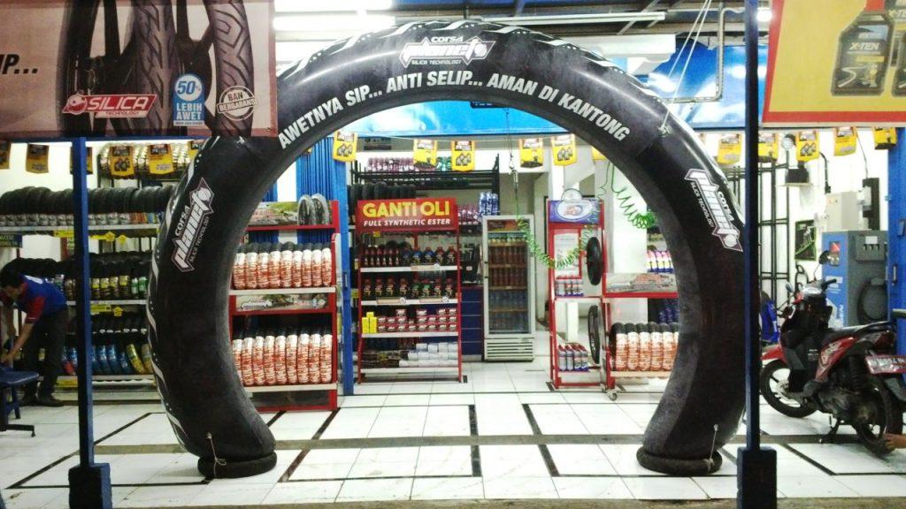 balon gate custom pvc