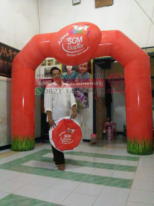 balon gate custom sgm