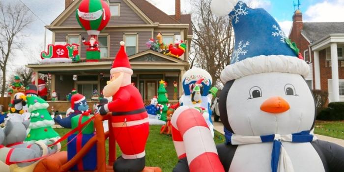 Jual Balon Natal / Balon Karakter Natal & Tahun Baru