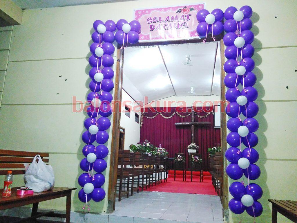 dekorasi balon wedding