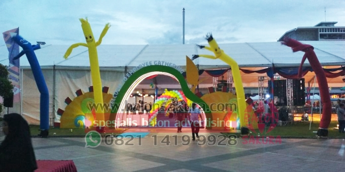 Jual & Sewa Balon Sky Dancer / Balon Dancer Murah | 0821 1419 9928