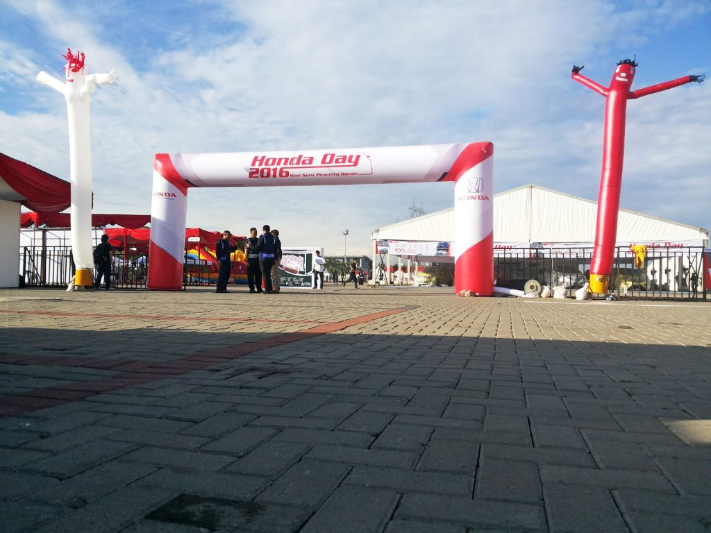 balon gate dan dancer honda