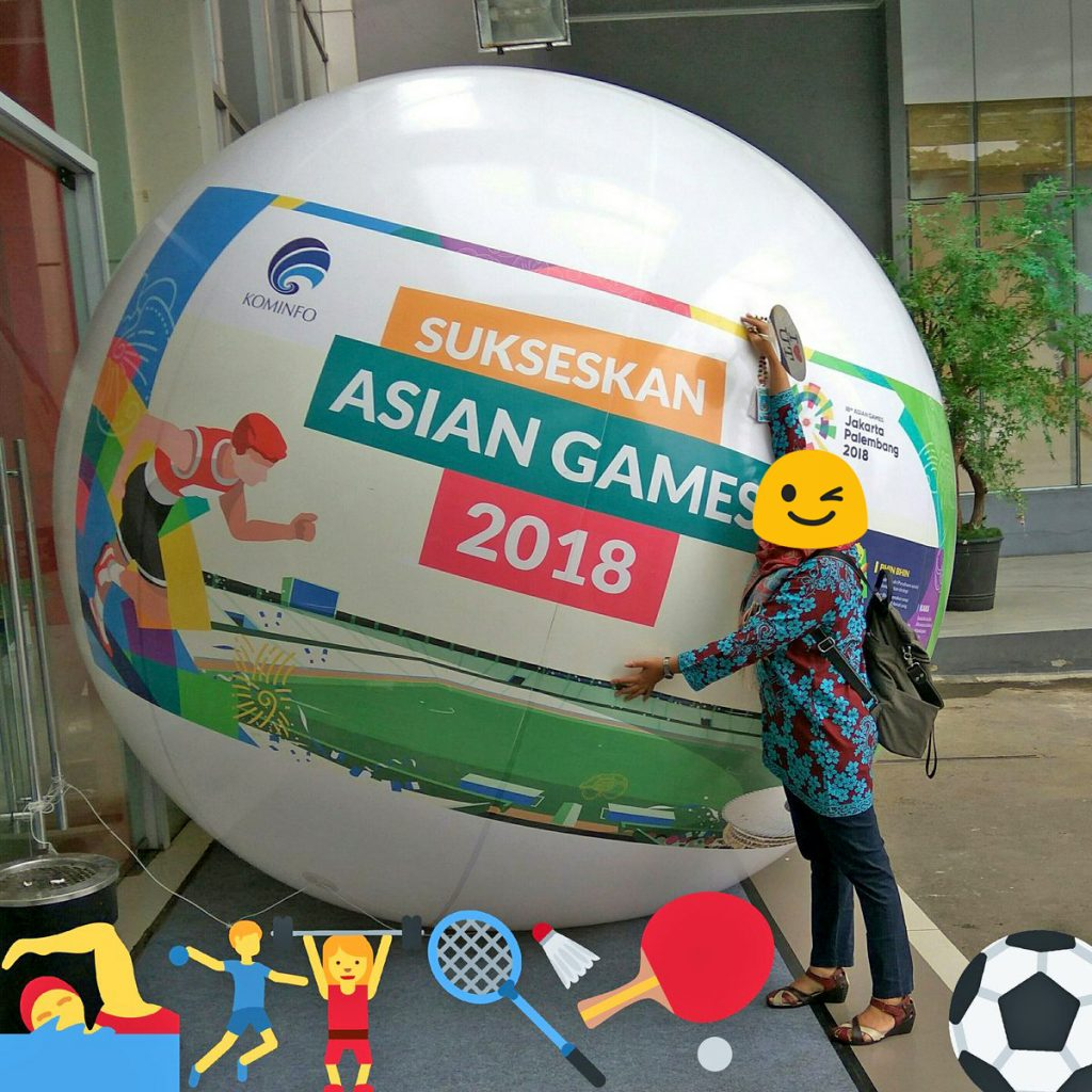 asian games balon bola