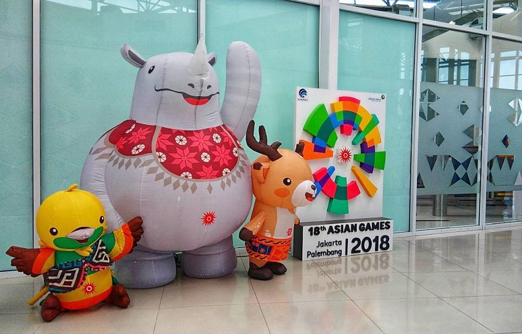 asian games balon karakter