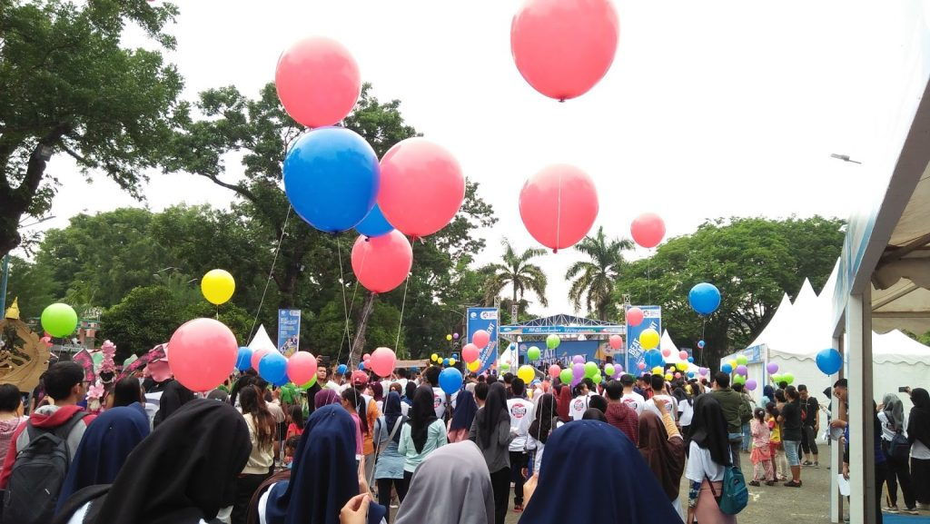 asian games balon pelepasan