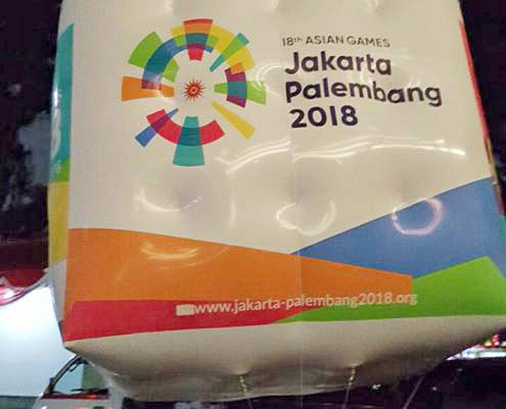 asian games balon udara promosi