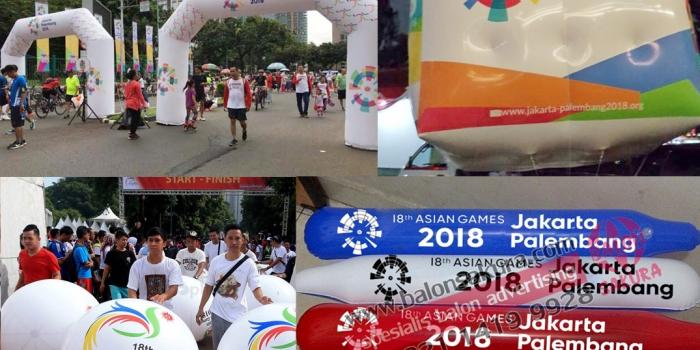 Balon Asian Games Berbagai Jenis Bentuk & Ukuran
