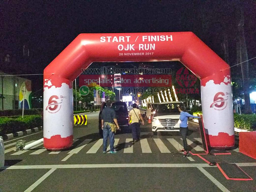 balon gate start finish ojk run