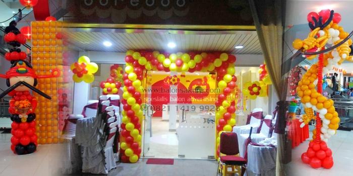 Balon Dekorasi Imlek , Gong Xi Fa Cai , Chinese New Year | Balon Sakura
