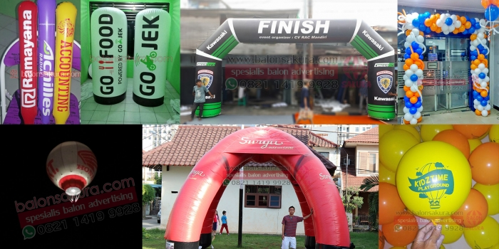 Balon Promosi Semarang Jawa Tengah | Balon Sakura