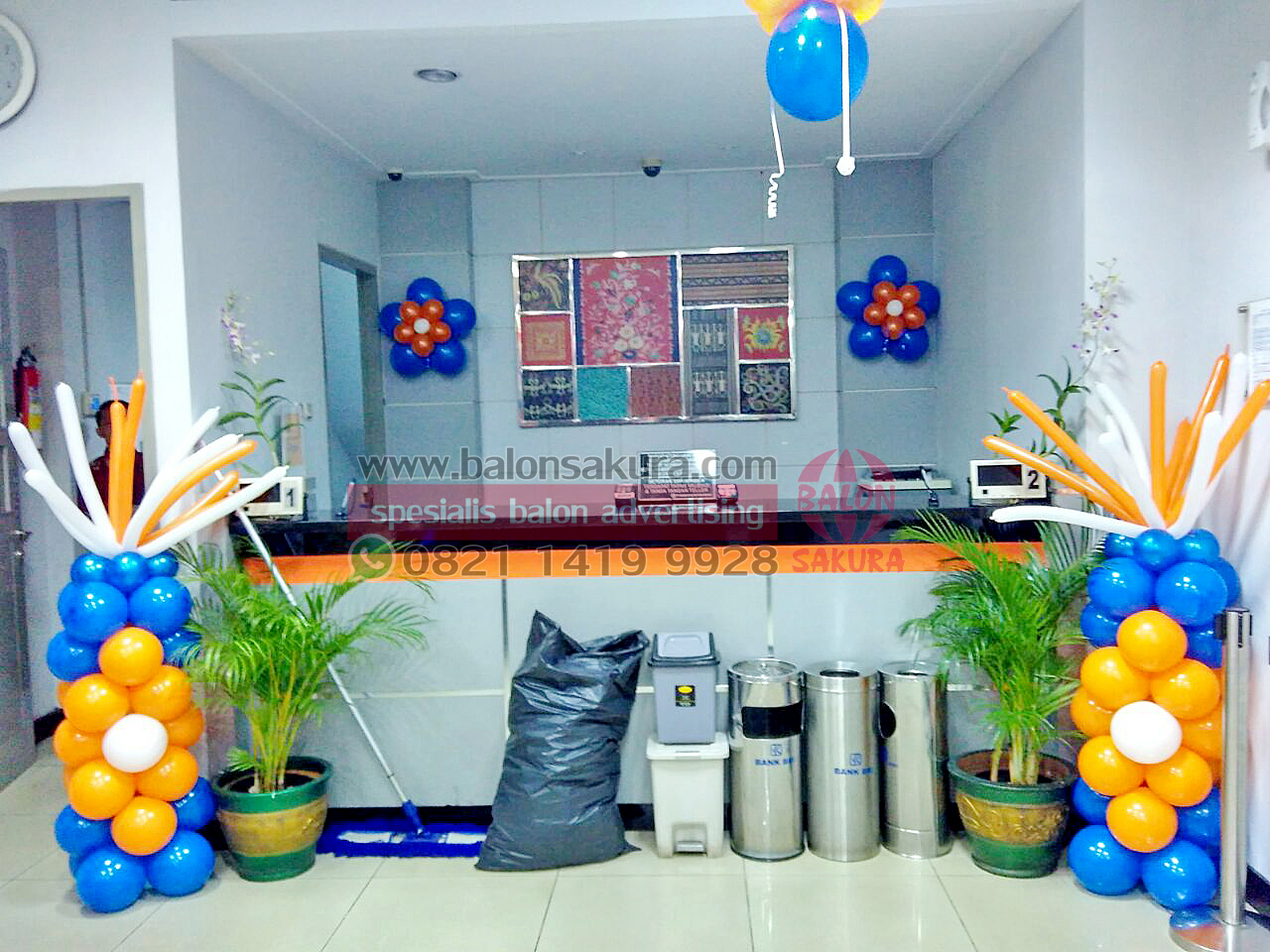 dekorasi balon bank
