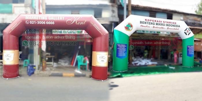 Balon Gate Ungaran, Semarang, Salatiga, Demak, Kendal | Balon Sakura