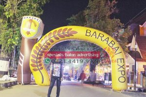 balon gate custom expo