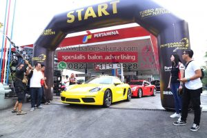 balon gate porsche club