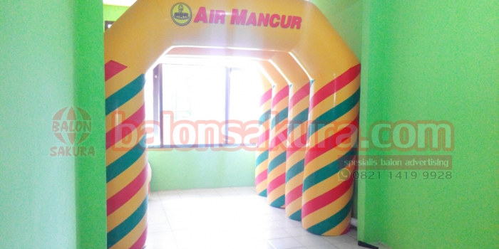 Balon Gate Promosi / Balon Gate Counter / Balon Gate Dealer Unik