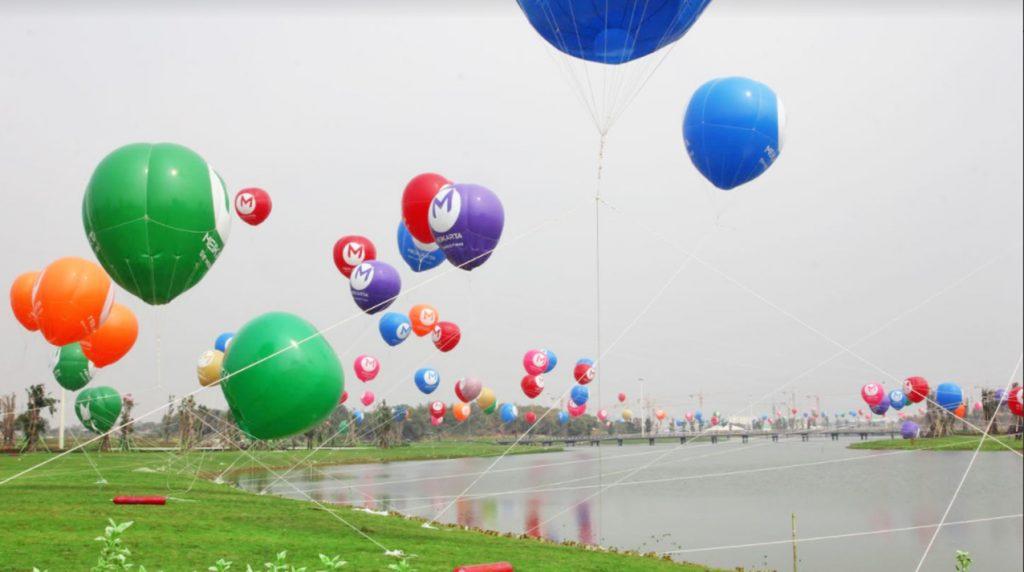 balon udara meikarta