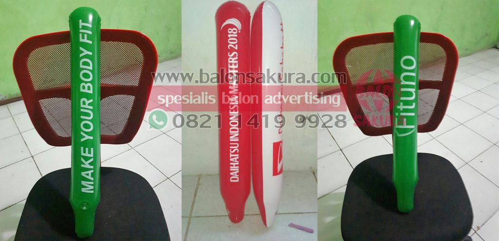 balon tepuk supporter / thunder stick