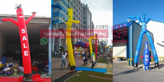 Balon Dancer Semarang / Balon Joget Area Jawa tengah