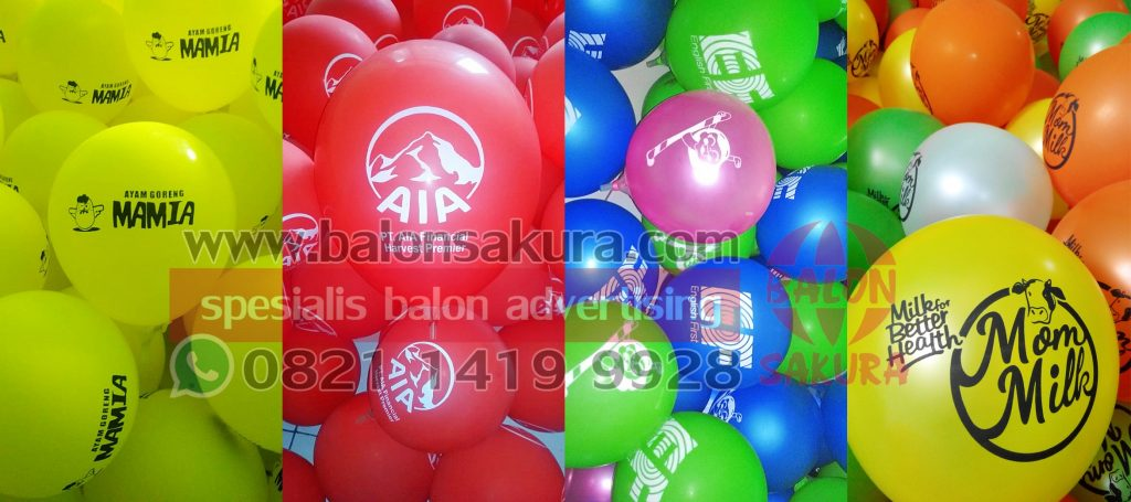 balon print / balon sablon harga murah