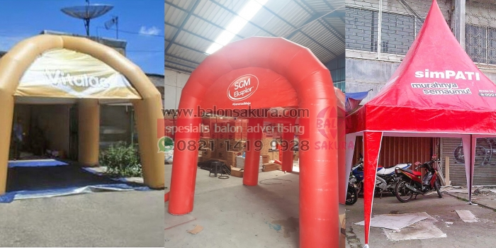 Jual Balon Tenda Harga Murah Di Jakarta – Tangerang / Balon Tenda Area Jabodetabek