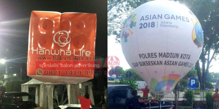 Rental Balon Udara Promosi | 082114199928 BALON SAKURA