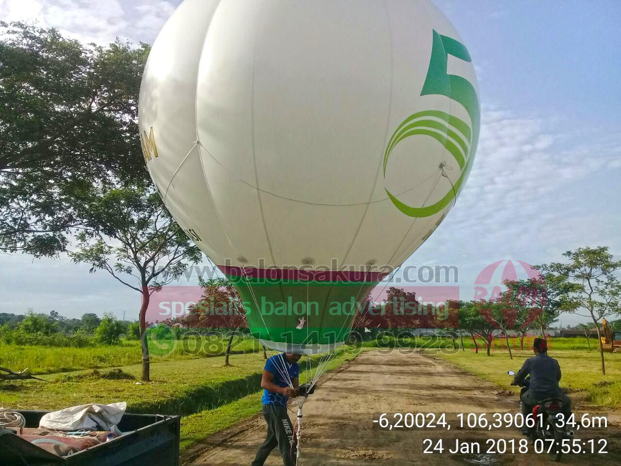 sewa balon udara pesantren