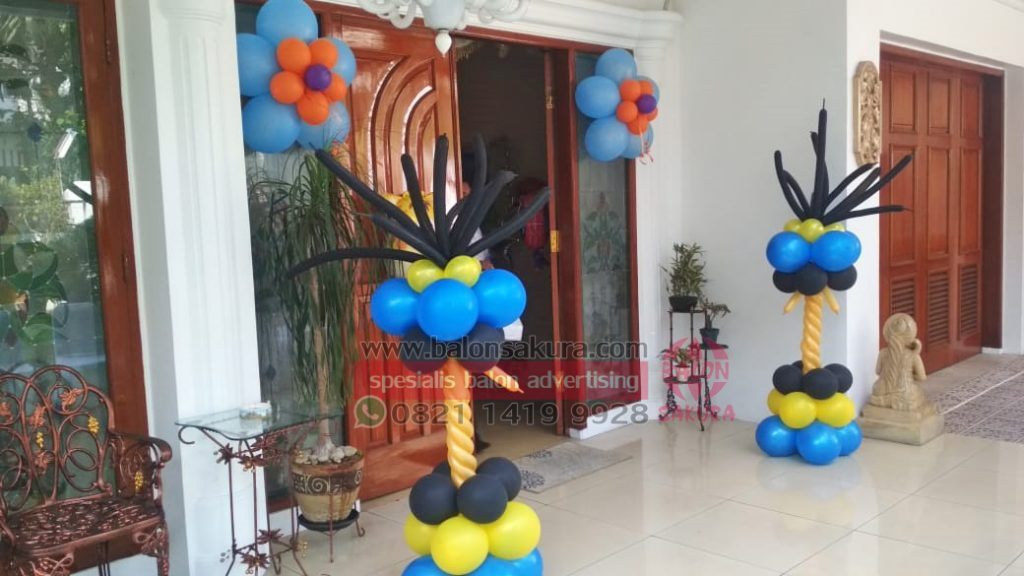 balon dekorasi standing balon